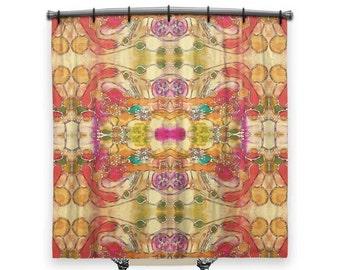 boho shower curtain shower curtain artsy shower curtain boho curtain funky
