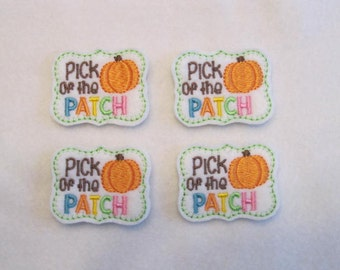 4 Felt Pick of the Patch Applique Embellishments Style YT