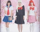 Simplicity 8160 Misses Lolita Sailor Moon Fantasy Cos Play Costume UNCUT Sewing Pattern