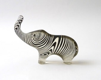 Abraham Palatnik Op Art Lucite Elephant Large