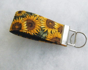 Mini Key Fob  - Sunflowers2
