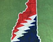 Batik New Hampshire Lightning Bolt T Shirt- Size  L or XL