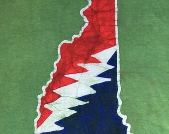 Batik New Hampshire Lightning Bolt T Shirt- Size  L or XL