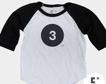 3rd Birthday Shirt - Raglan