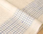 Nani Iro Kokka Japanese Fabric bed grass cozy nep double gauze - A - 50cm
