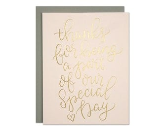 Special Day Foil Card