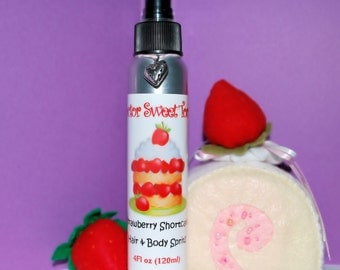 Strawberry Shortcake Body Splash and Hair Perfume 4oz