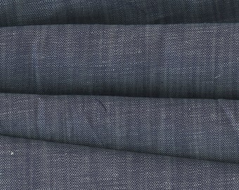 Rustic Chambray Twill Denim Fabric Robert Kaufman