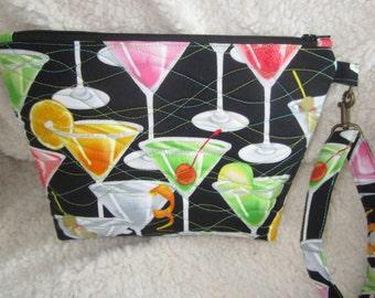 Happy Hour Wristlet Bag