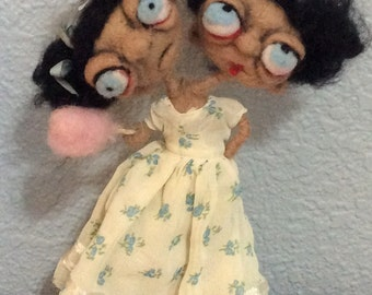 Siamese Twin  Ooak art doll