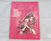 Vintage Hardcover Movie Souvenir  Promo Book of, My Fair Lady by Warner Bros, 1956, Rex Harrison and Audrey Hepburn, classic
