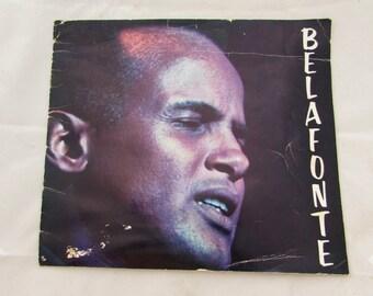 Vintage Harry Belafonte Concert Program Booklet Souvenir, 60s, Seattle Performance, singer, Banana Boat Song performance