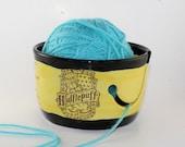 Hufflepuff Ceramic Yarn Bowl - IN STOCK