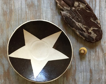 Small Ceramic Star Plate