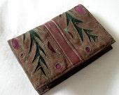 Little Suede Card Wallet