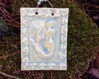 Little Mermaid Tile in Sea Mist