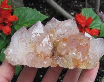 Large Spirit Quartz Crystal Cluster Fairy Quartz Cactus Quartz