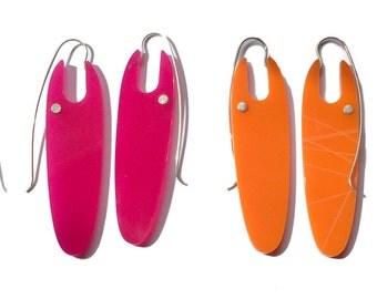 LANG earrings in various colors