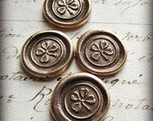 Four Leaf Clover Pocket Token- Good Luck Token - Good Luck Pocket Token - Friendship Gift - Protection Charm - Love Token