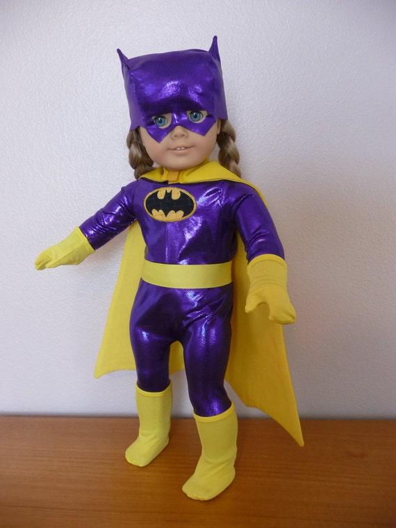 bat girl purple batgirl purple superhero super hero outfit