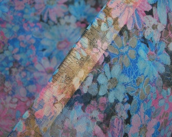 70s Sheer fabric chiffon dance costume fairy wing fabric