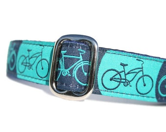 """1"""" Dog Collar Bicycles - Choose Your Collar Style!"""