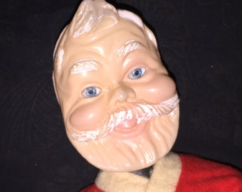 Vintage Christmas Santa Doll
