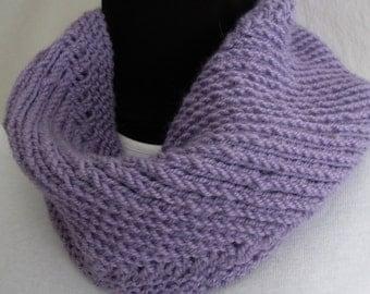 Winter Wear #Scarf # Neckwarmer #Cowl #Circular #Accessory #Winter Fashion Lilac