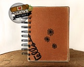 Crazy for Daisies - Wire-Bound Recycled Art Journal