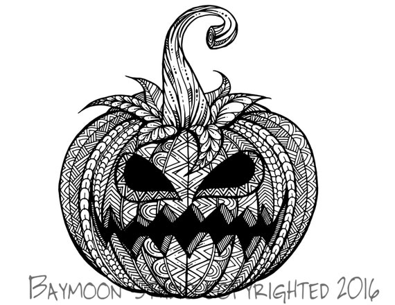 Jack o lantern coloring page printable coloring by for Coloring pages of jack o lanterns