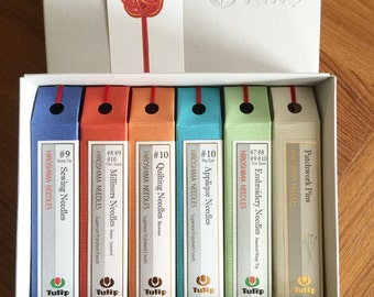 Tulip Needles Boxed Gift Set