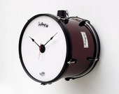 Recycled Drum Clock