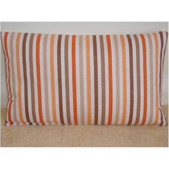 Wandfarben Braun Rot Und Beige: 12 X 20 Längliche Nachläufer Kissen Decken Orange Von
