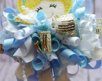 Inspired by Cinderella Funky Loopy Bow