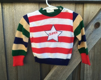 Super Star Sweater 9/12 Months