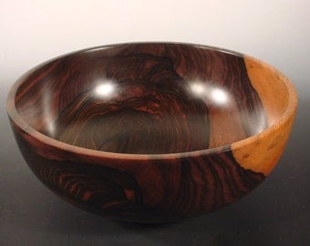 Malaysian Blackwood Ebony Wood Bowl Wooden Bowl number 6132 by Bryan Nelson