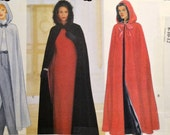 Sewing Pattern Butterick 5889 Misses Rennaisance Capes UNCUT Complete Size 8-10-12 Bust 30-34 inches