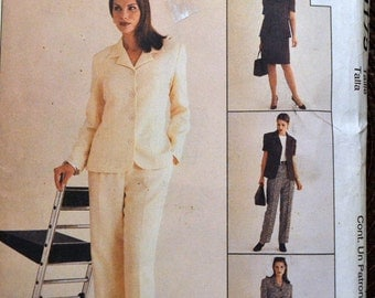 Sewing Pattern McCall's 9175 Misses' Jacket, Pants, and Top Bust 32-36  inches Complete Uncut
