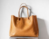 Reserved for Susan / Leather Shopper in Butterscotch / Leather Tote / Shoulder Bag / Brown Leather Bag / Leather Bag / Leather Handbag