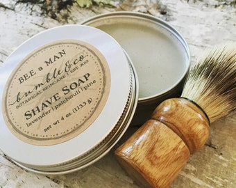 6 Mens Shave Sets | Groomsman Gift Set | Handcrafted Shave Soap | Shave Brush | Gifts for Men | Winter Wedding Gift | Wedding Party Gifts