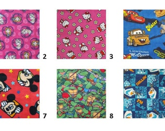 Large Picture List I Spy Bag- Your Character Fabric Choice