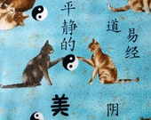 RESERVED for Mary Shooshan, Yin Yang Cats, 4 YARDS