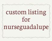 Custom leather box clutch for nurseguadalupe