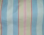 Blue White Cotton Stripe Ikea Fabric 1 Yard Tilly Enkel BTY 12424