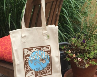 Vienna Grow Your Own Roots Tote - Brown