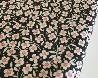 SALE fabric, Fig Tree Quilts fabric, Farmhouse Decor, Black fabric, Red fabric, Cotton fabric by the yard- Choose your cut