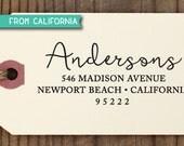 SALE custom ADDRESS STAMP, Self Inking Stamp, Rubber Stamp, Return Address Stamp, Personalized Stamp, rsvp Address Stamp, Wedding Stamp 312
