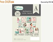 SALE Authentique Fabulous! Life Cards, Journal Cards