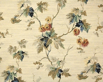 1920s Vintage Wallpaper by the Yard - Antique Wallpaper Brown Gray and Black Leaves