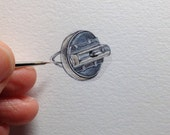 Miniature Painting of a hand buzzer by Brooke Rothshank